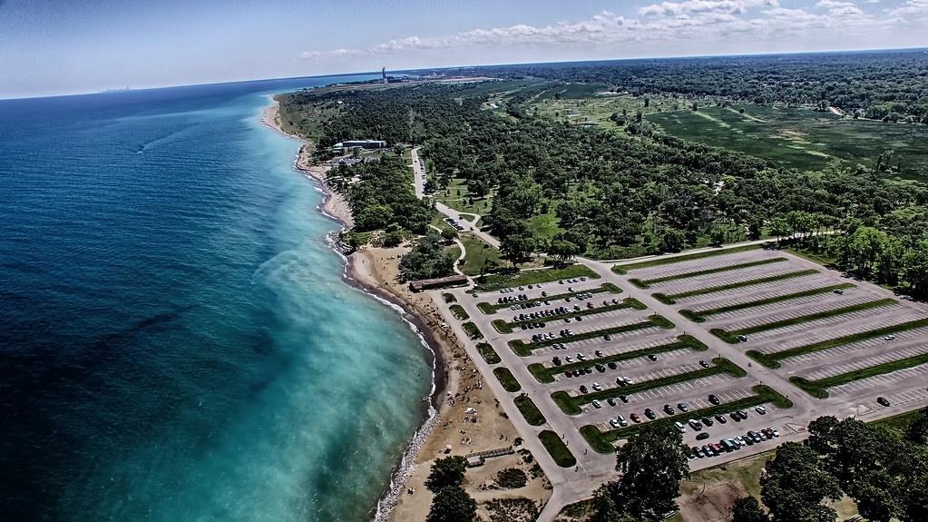Illinois Beach State Park Shoreline