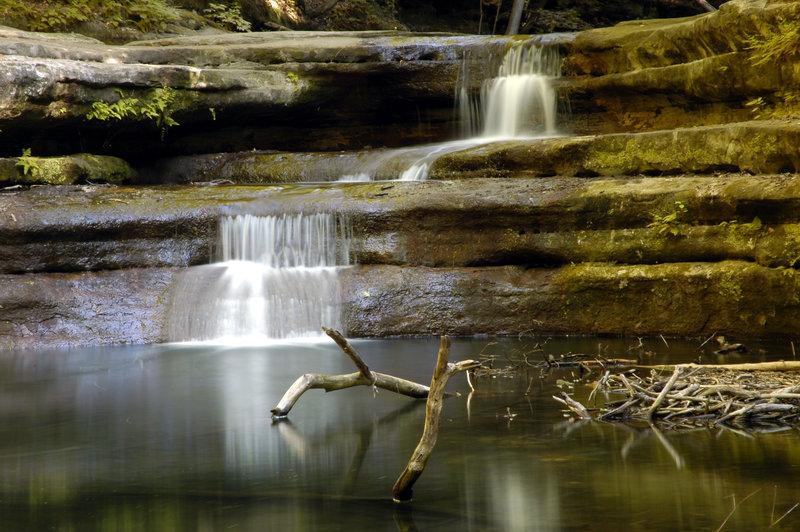 Matthiessen State Park Falls