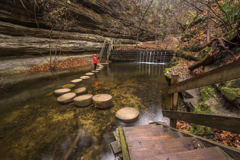 Matthiessen State Park Trail