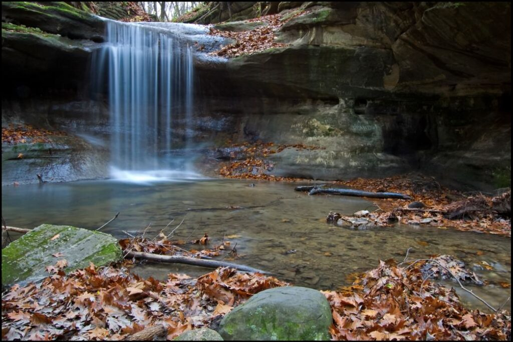 Matthiessen State Park Waterfall 1