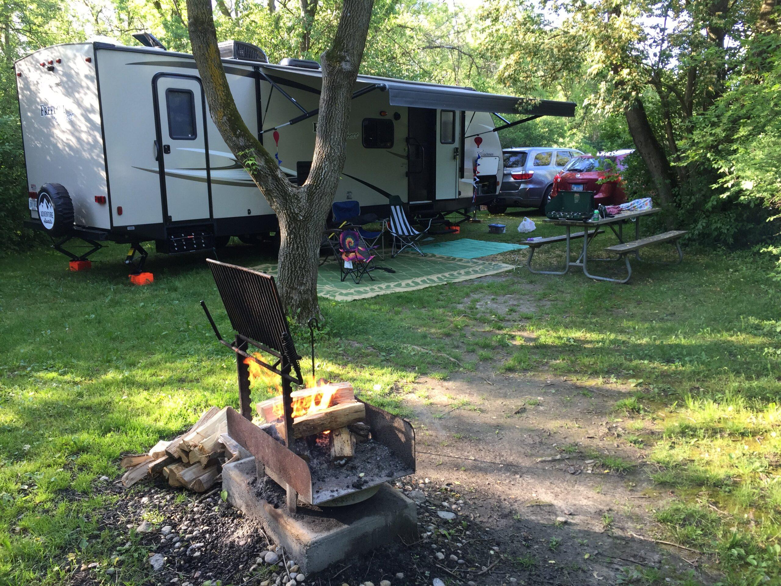 Rock Cut State Park RV