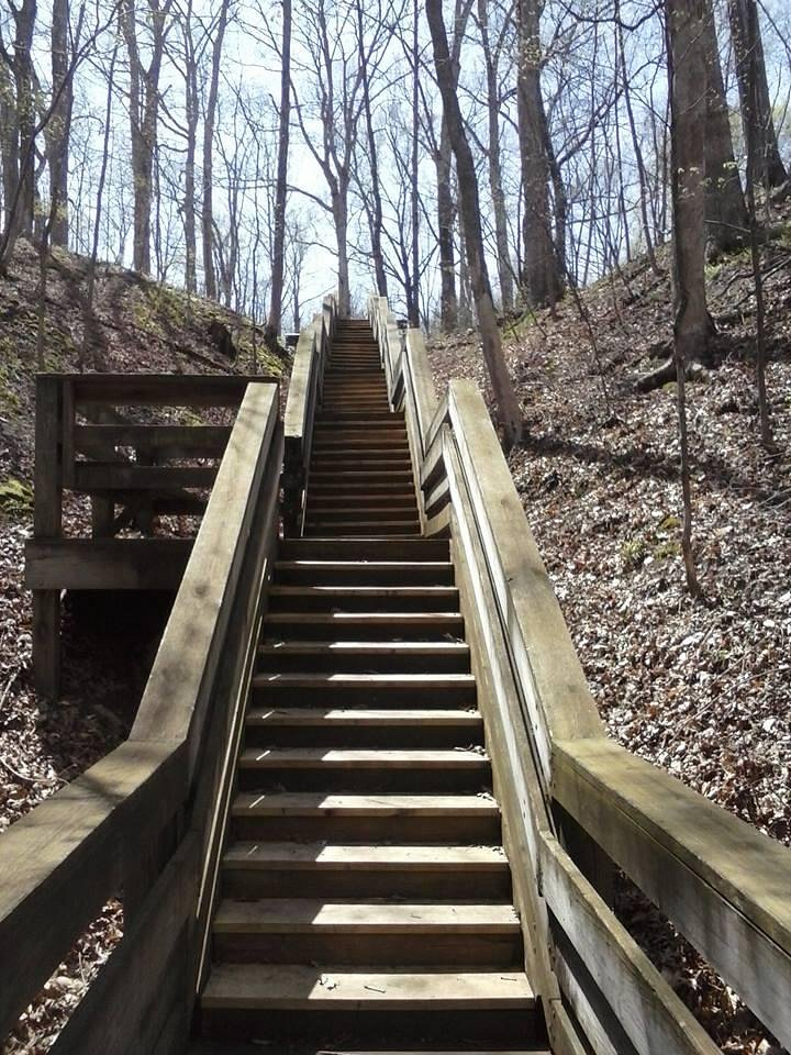 Lincoln Trail State Park Staircase