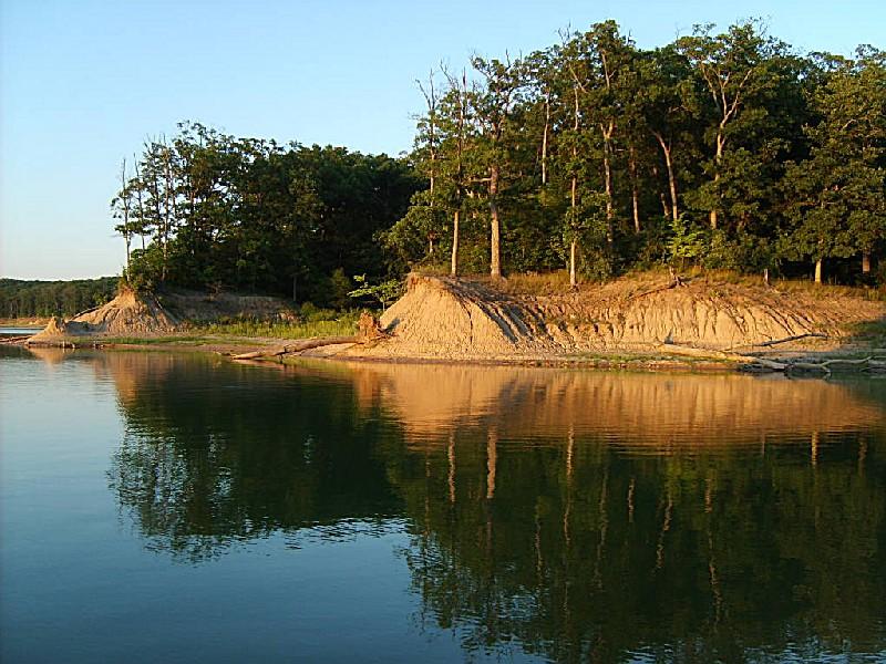 Wolf Creek State Park Coastline